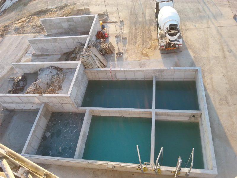 Recyclage de l'eau et des déchets bétons chez CuBe
